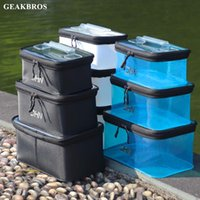 Portable Fishing Tackle Box EVA Bag Waterproof Bait Lure Storage Fish Accessories Gear Equipment Case Fishbox