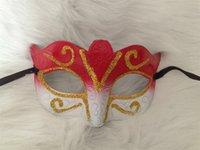 Promoção vendendo máscara de festa com máscara de glitter dourado Venetian unisex sparkle masquerade máscara de mamarda gras máscaras masquerade 1062 b3