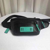 2021 Nova Cinto Senhoras Saco de Cintura Pac-Man Imprimir Crachá Pequeno Monstro Graffiti Cintura Bag One-ombro Sidearm Moda Bags para homens e mulheres