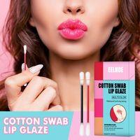 20Pcs Set Cotton Swab Lipsticks For Outdoor Portable Lipstick Cosmetics Waterproof Case Lasting Long Cigarette Liquid Tint 1086