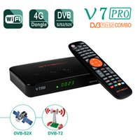 GTMedia V7 Pro 셋톱 박스 DVB-S2 T2 S 위성 TV 수신기 USB 와이파이 안테나 DVBT2 풀 HD 1080