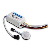 Smart Home Control-Korridore IR Infrarot EL LED-Lichtmodul-Bewegung Intelligenter Universal-Zeitverzögerung Automatischer Körpersensor-Schalter