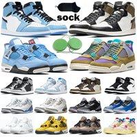 nike air jordan 1 4 Koşu Ayakkabısı Erkek Bayan Spor Ayakkabı Saf Platin Brushstroke Magma Üçlü Siyah Beyaz Mavi Kuvvet 2090'lar Chaussures Eğitmenler Spor Getirdi