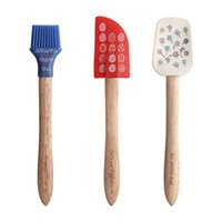 Baking & Pastry Tools Pcs Silicone Spatula Set Cream Sweeping Aberdeen Butter Scratching In All Directions