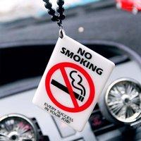 Pendentif auto mode décoration de miroir de la mode sans tabagisme Panneau d'avertissement Intérieur Ornement automatique pour accessoires suspendus1