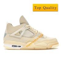 Con caja 4 FW Sail Man Hombre Baloncesto Zapatos de baloncesto JB-Jo4Rossm Top Women Calidad Show Sneaker Sail / Muslin-White-Black