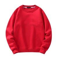 Sweats à capuche pour hommes Sweatshirts Parklees Couleur solide Casual Cold Oc Sweatshirt Mode Crewneck Sweat à capuche Hommes Streetwear surdimensionnée T