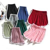 Mädchen Sport Shorts Sommer Baumwolle Strand Kurzer Süßigkeiten Farbe Hosen Outdoor Casual Hose 2021 Koreanische Mode Yoga Reithose WMQ1086