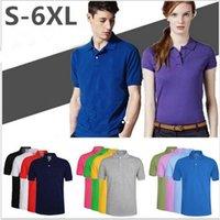 Marca de Verão Golf Polos Camisetas Streetwear T Shirt Casual Big Pequeno Cavalo Bordado Homens Tops Quick Seco Slim Slim Manga Curta Top 21 Cor