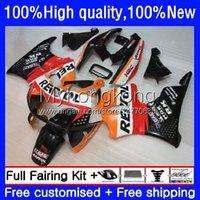 Bodys Kit For HONDA CBR 893RR 900RR 893 900 CC 89 90 91 92 93 Bodywork 36No.105 CBR900RR CBR893RR 1989 1990 1991 1992 1993 CBR900 CBR893 Repsol orange RR 89-93 OEM Fairing