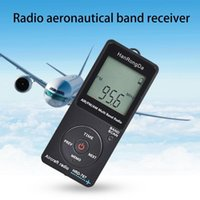 Radio HRD-767 Digital Mini LCD Display With Earphone FM AM AIR Portable Aviation Band Receiving For Travel
