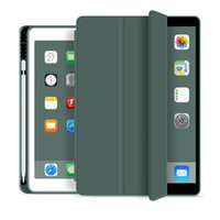 Per iPad Pro 11 Tablet Case in pelle TPU Cover posteriore Air 4 10.9 Mini5 10.5 10.2 9.7 Slot per penne