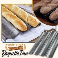Хлеб без палочки багета Pan Baker печь печенья плита лоток из лотка хлеба плита плита посуда