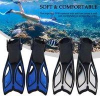 Pool & Accessories Snorkeling Diving Swim Fins Portable Adjustable Scuba Flippers Professional Snorkel Foot Swimming