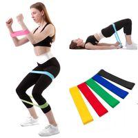 Widerstandsbänder Yoga Body Building Trainingsgürtel Fitness Übungsband Hohe Spannung Muskeln für Bein Knöchelgewicht Training HWE7515
