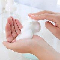 Organisation de stockage de salle de bains 250mm / 300mm 5pcs Bouteilles moussantes en plastique Douche de gel de gel de gel Distributeur de savon Distributeur de pompe à liquide
