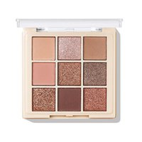 Eye Shadow 9-color Eyeshadow Palette Safe Non-Flying Powder Makeup Matte Shimmer Glitter Pigmented Waterproof Gaudily