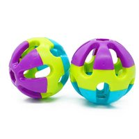 Cat Toy Vocal Ball Bell Luid Volume Squeak Draagbare Biting Resistance Chew Dental Training Protection Pet Toys