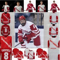 Wisconsin Badgers Hockey Jersey Cole Coufield Robbie Beydoun Linus Weissbach Dylan Holloway Ty Pelton-Byce Roman Ahcan Cameron Rowe Ty Ember