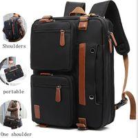 Backpack The Multifunctional Men And Women Large-capacity Business Diagonal Bag 15.6-inch, 17.3-inch Handbag Computer