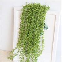 Artifical Lover Tears Succulents Wall Hanging Fake Flowers Home Decor Vines Wedding Decoration Flower Bonsai Green Plant Decorative & Wreath