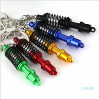 Toyikie Coilover Keychain 크리 에이 티브 핫 자동차 부품 모델 자동차 액세서리 흡수 키 체인 키링 키 체인 KeyFob FKNN #