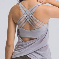 Fitness mulher alta impacto esporte tanques transversais cintas wirefree ajustável fivela spandex yoga tops ginásio treino sutiã