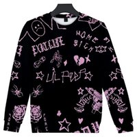 Lil Peep Толстовка мода повседневная бессмысленная с толстовой капюшоном людям / женщины зима хараджуку стиль пуловер уличная одежда мужская толстовка пот