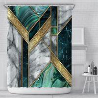 새로운 샤워 커튼 크리 에이 티브 디지털 인쇄 도어 커튼 방수 폴리 에스터 커튼 룸 커튼 샤워 샤워 커튼 FWE6584