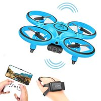 Sensing Gesture Control Mini RC Drone Smart Watch Remote Aircraft Hand Helicopter Kids Toys Drones