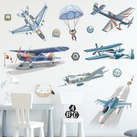 Wall Stickers Cartoon Fighter For Kids Rooms Bedroom Decoration Nursery Decor Decals Home Anime Poster DIY Sticker