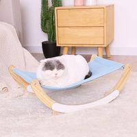 Haustier Katze Schaukelstuhlbett Holz Zwinger Hängematte Hängen Korb Möbel, um Langeweile Betten zu lindern