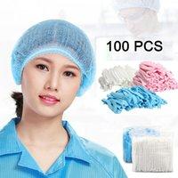 Non-woven Disposable Shower Caps Dust Hat Women Men Bath For Spa Beauty Salon Bathroom Bonnets El AccessoriesHair