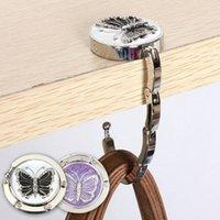 1Pc Butterfly Foldable Hanger For Handbag Purse Bag Durable Table Hook Hang Holder Hooks & Rails