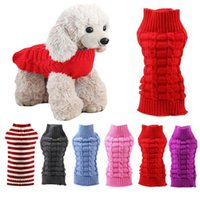 Winter Dog Sweater Ordinary Dachshund Clothes For Small Dogs Warm Pullover Puppy Jumper Knitted Clothing Pet Costume Apparel
