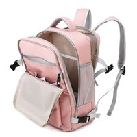 Travel Backpack Large Diaper Bag Dry and Wet Pocket Shoes Compartment USB Charging Bottle Insulation Mother Baby 210916