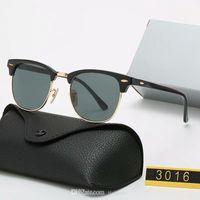 Clássico Luxo 2021 Marca Polarizada Óculos De Sol Homens Mulheres Piloto Sunglass UV400 Óculos Óculos Para Mulher 1001 Metal Frame Polaroid Lens com caixa caixa