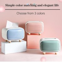 Tissue Boxes & Napkins Box Home Imitation Rradio Creative Cute Living Room Bamboo Charcoal Kitchen Paper Holder Storage D2