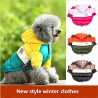 Dog Apparel Sale Winter Pet Clothes Warm Down Jacket Waterproof Coat S-XXL Hoodies For Chihuahua Small Medium Dogs Puppy