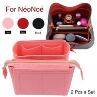 ل NEO NOE إدراج أكياس المنظم ماكياج حقيبة يد تنظيم السفر الداخلية محفظة المحمولة قاعدة مستحضرات التجميل المشكل ل Neonoe 201113
