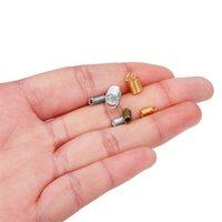 100 teile / los Frühlingsklappenschnur Crimp Endkappen Befestigungselemente für DIY Armband Halskette Schmuckherstellung Zubehör Zubehör 1579 Q2