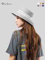 패션 Stingy Brim 모자 미국 유행 Bure 애비뉴 태양 모자 레저 야외 짚 여름 통기성 여행