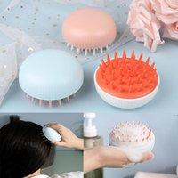Hair Brushes Silicone Head Washing Comb Body Massager Shampoo Scalp Massage Brush