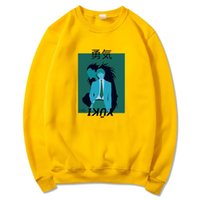 Women's Hoodies & Sweatshirts Japan Anime Cartoon DEATH NOTE Design Sweatshirt Harajuku Hip Hop Courage Print Men Women Streetwear Pullover