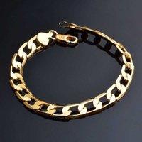 Nuevo Mejor Diseño Hombre 18k Collar de oro y pulseras Conjunto de joyas de acero de Staines Stainles Cool para la venta 87 Q2