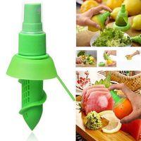 NewFruit Herramientas Accesorios de cocina Creative Lemon Sprayer Fruits Juice Citrus Lime Juicer Spritzer EWB6892