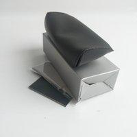العلامة التجارية النظارات الشمسية الصندوق الأسود البني حالة بو الجلود خمر نظارات الشمس النظارات تخزين حامل الحالات الرجعية