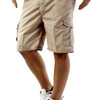 Shorts Homme Multi Pocket Capri Calças Mens Street Hip Hop Estilo Fit Vestuário Mens Carga Relaxado