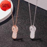 Рекомендую S925 Стерлинговое Серебро Ожерелье Хельрингбон Тапочка для девочек