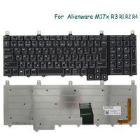 Teclado JP Backlit original para Alienware M17X R1 R1 R3 Laptop Black 0cgfyh Teclados de substituição